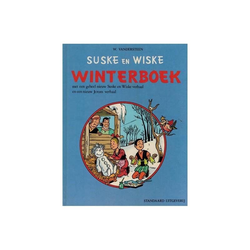 Suske & Wiske reclamealbum Winterboek 01 HC 1e druk 1973