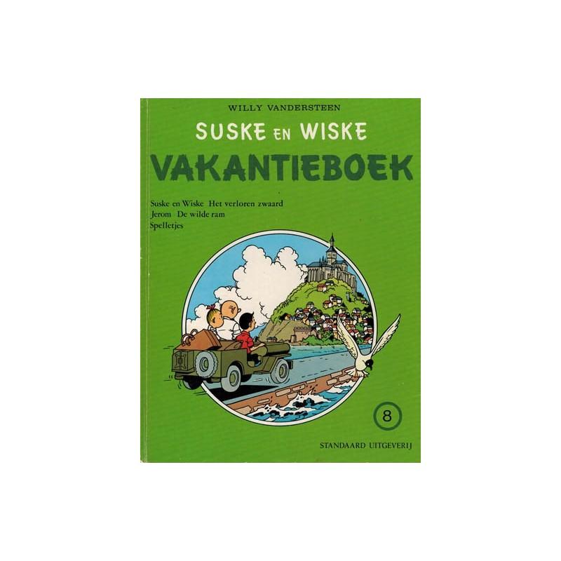 Suske & Wiske reclamealbum Vakantieboek 08 HC 1e druk 1980
