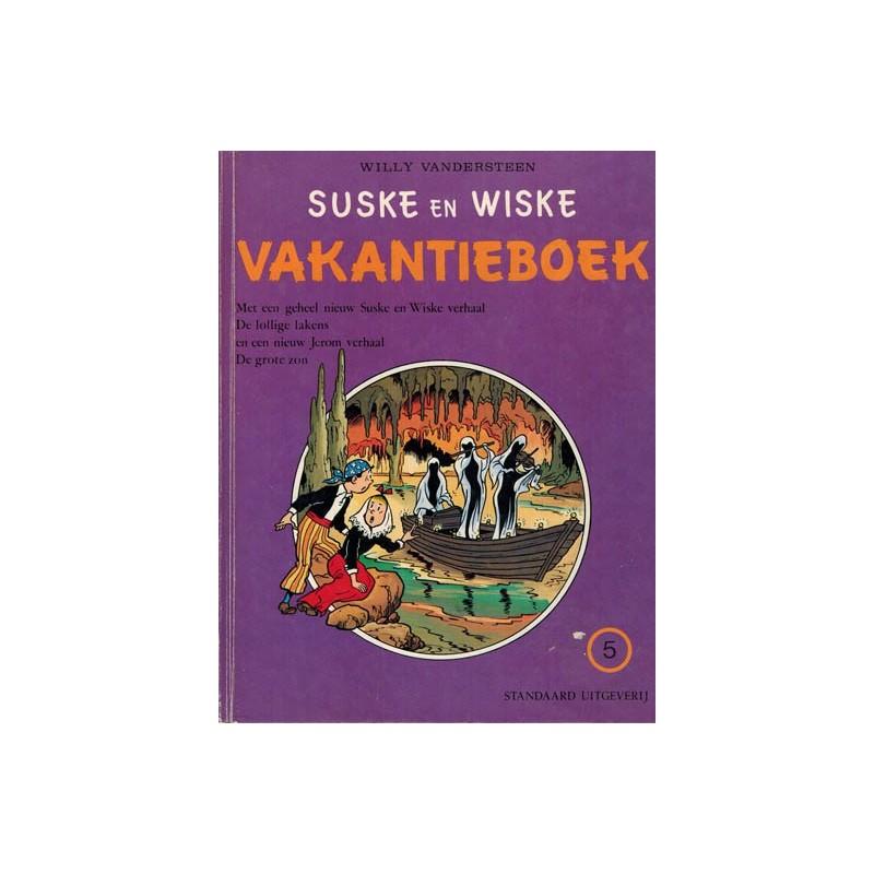 Suske & Wiske reclamealbum Vakantieboek 05 HC 1e druk 1977