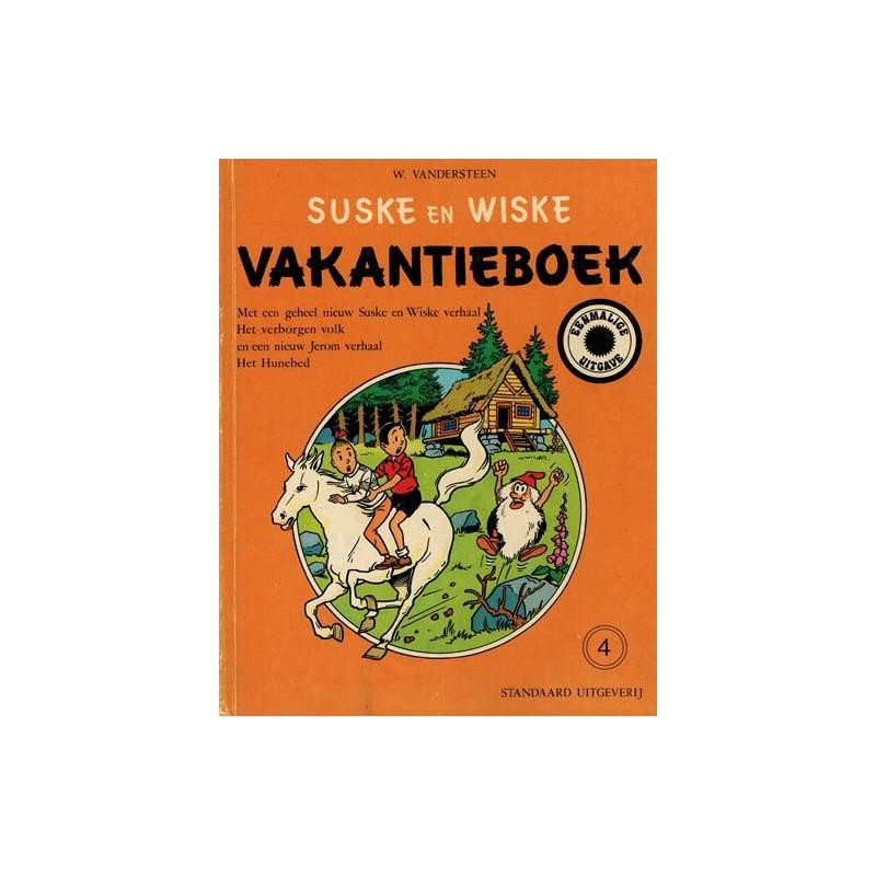 Suske & Wiske reclamealbum Vakantieboek 04 HC 1e druk 1976