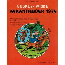 Suske & Wiske reclamealbum Vakantieboek 02 HC 1e druk 1974