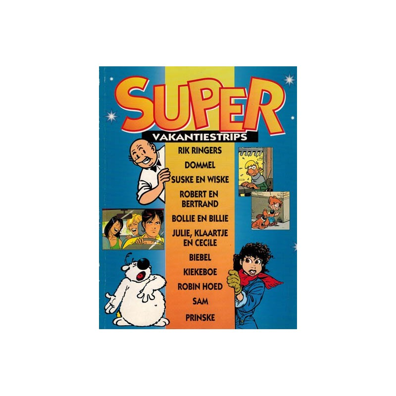 Suske & Wiske reclamealbum Super vakantiestrips 1e druk 1996