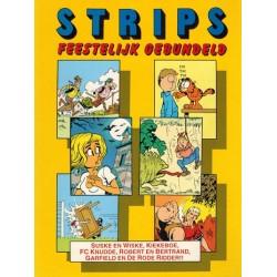 Suske & Wiske reclamealbum Strips feestelijk gebundeld 1e druk 1994
