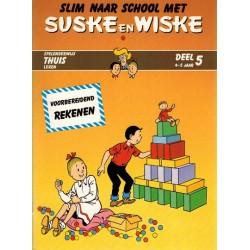 Suske & Wiske reclamealbum Slim naar school met Suske en Wiske 5 1e druk 1988