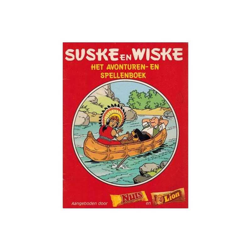 Suske & Wiske reclamealbum Avonturen- en spellenboek 1e druk 1987 (Nuts)