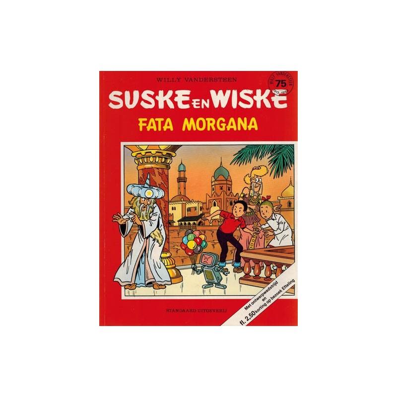 Suske & Wiske reclamealbum Fata Morgana 1e druk 1988 (De Efteling) met ontwerpwedstrijd