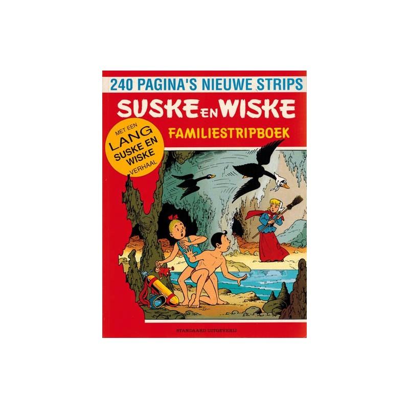 Suske & Wiske reclamealbum Familiestripboek Witte zwanen zwarte zwanen 1e druk 1989