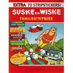 Suske & Wiske reclamealbum Familiestripboek Stenen broden 1e druk 1997