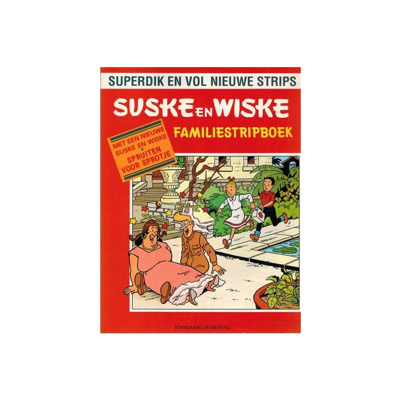 Suske & Wiske reclamealbum Familiestripboek Spruiten voor Sprotje 1e druk 1991