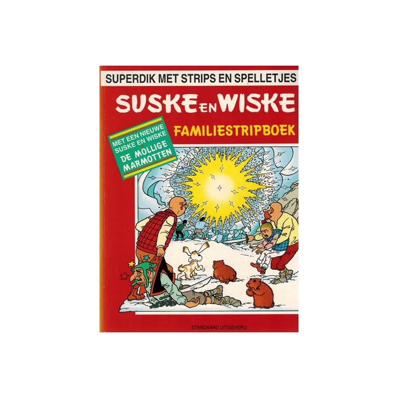 Suske & Wiske reclamealbum Familiestripboek Mollige marmotten 1e druk 1994