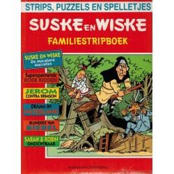 Suske & Wiske reclamealbum Familiestripboek Macabere Macralles + Kiekeboe 055 Schiet niet op de pianist 1e druk 1996