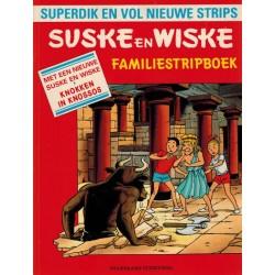 Suske & Wiske reclamealbum Familiestripboek Knokken in Knossos 1e druk 1990