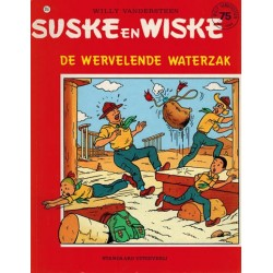 Suske & Wiske reclamealbum Wervelende waterzak 216 1e druk 1988 (Scouting)