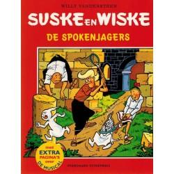 Suske & Wiske reclamealbum Spokenjagers met extra pagina's over de musical