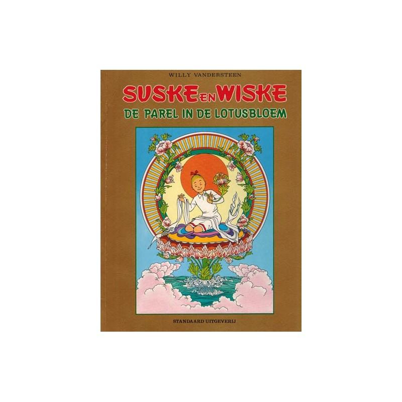 Suske & Wiske reclamealbum Parel in de lotusbloem 1e druk 1987 Gouden kaft