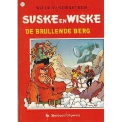 Suske & Wiske reclamealbum Brullende berg mini-album 14 1e druk 2003(Albert Heijn)