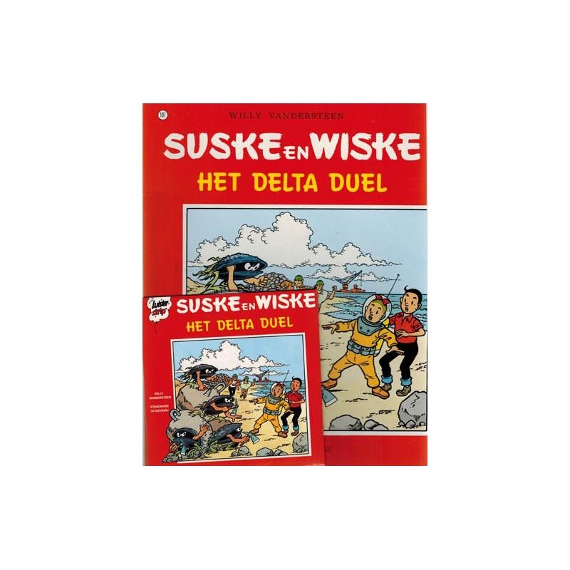 Suske & Wiske reclamealbum luisterstrip 197 Delta duel met CD