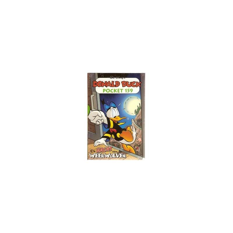Donald Duck pocket 159 De nacht van de weerwolven 1e druk