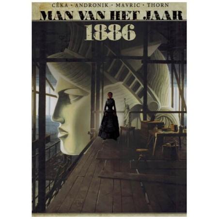 Man van het jaar 11 HC 1866 De muze die het vrijheidsbeeld bezielde