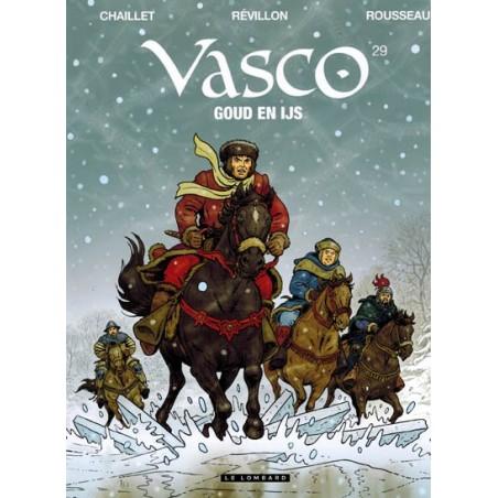 Vasco  29 Goud en ijs (naar Chaillet)