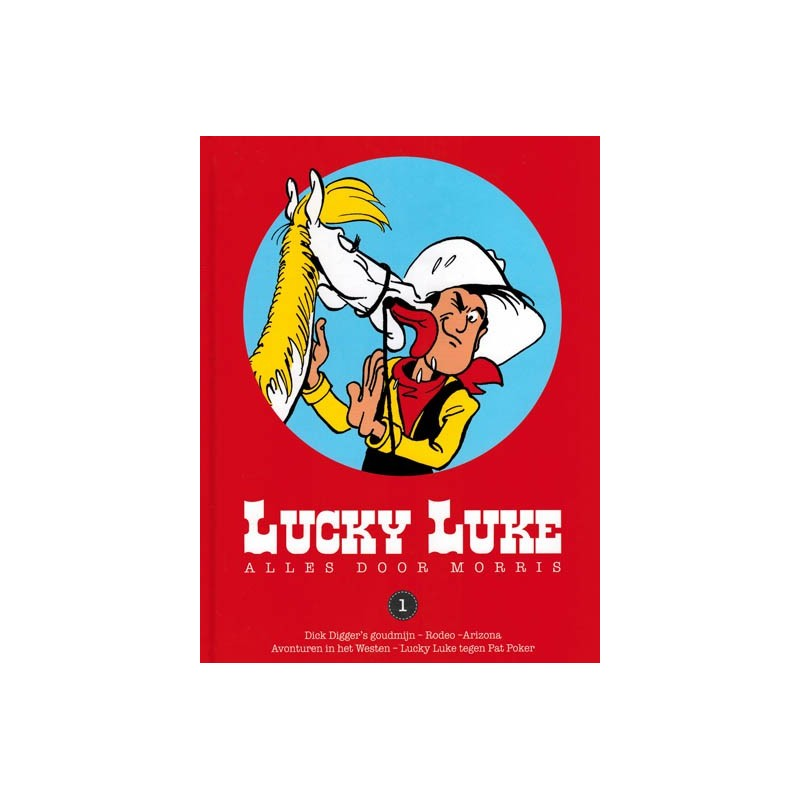 Lucky Luke    Goscinny set deel 1 t/m 18 HC (bevat alle 73 door Goscinny geschreven verhalen)