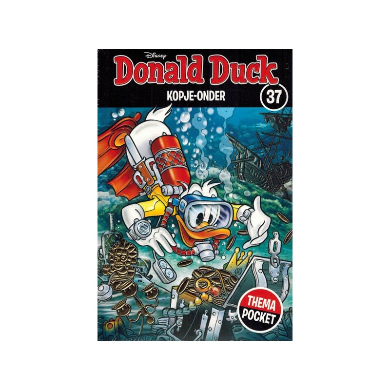 Donald Duck  Dubbel pocket Extra 37 Kopje-onder