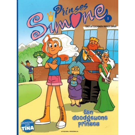 Prinses Simone 01 Een doodgewone prinses