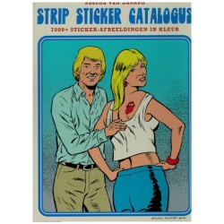 Strip sticker catalogus HC 7000+ sticker-afbeeldingen in kelur