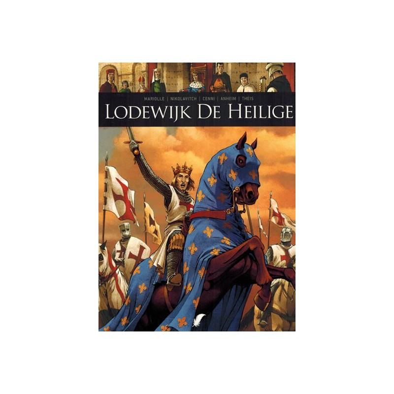 Zij schreven geschiedenis  11 Lodewijk de Heilige