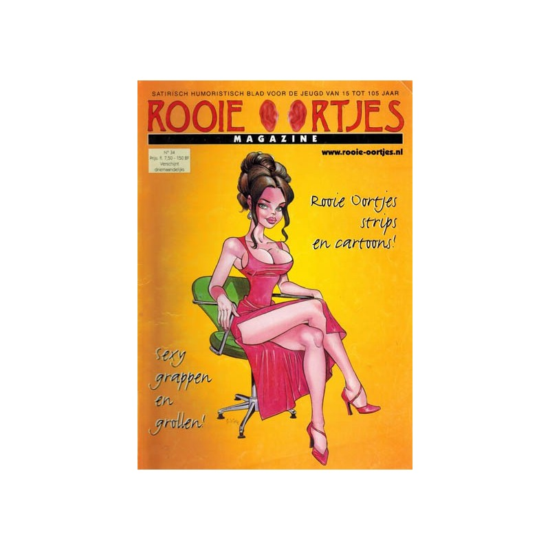 Rooie Oortjes Magazine 34 1e druk 2001