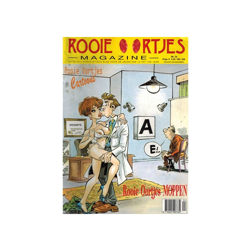 Rooie Oortjes Magazine 24% 1e druk 1998