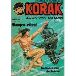 Korak Zoon van Tarzan classics 113 Slangen-eiland 1e druk 1976