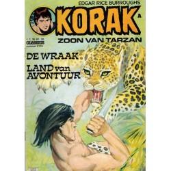 Korak Zoon van Tarzan classics 115 De wraak 1e druk 1976