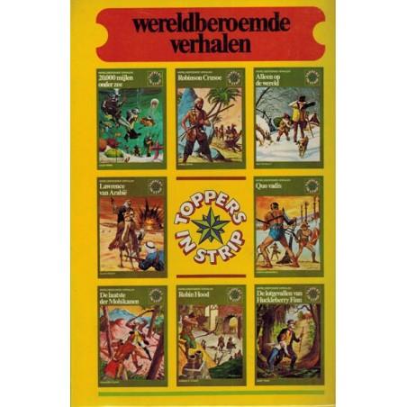 Toppers in strip band 1 Wereldberoemde verhalen 1 t/m 16 1e druk 1975