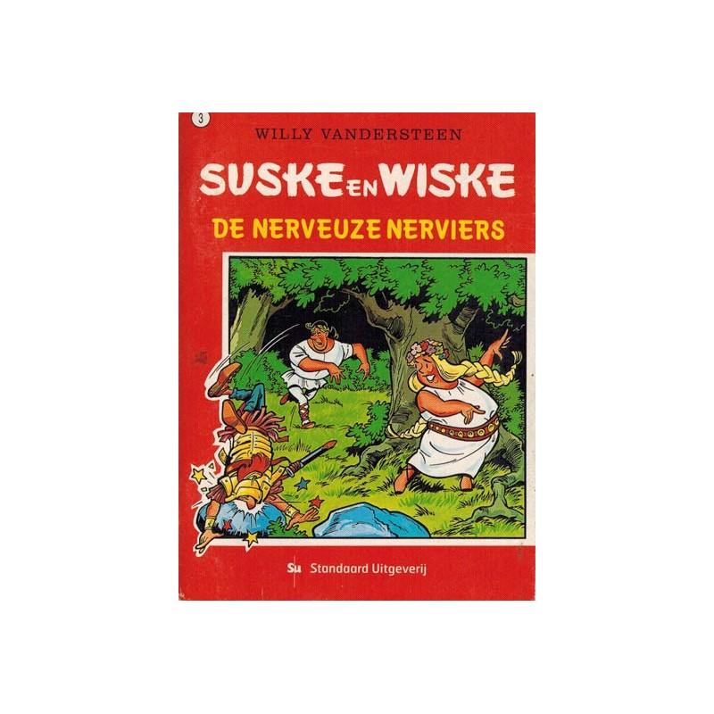 Suske & Wiske reclamealbum mini 03 De nerveuze Nerviers 1e druk 2003