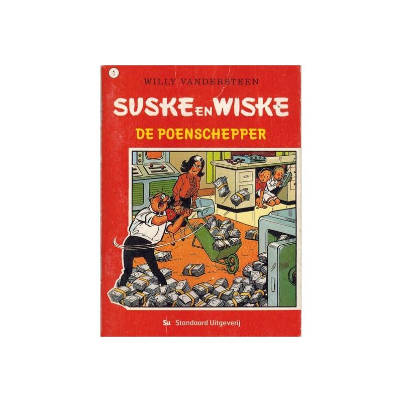 Suske & Wiske reclamealbum mini 01 De poenschepper 1e druk 2003