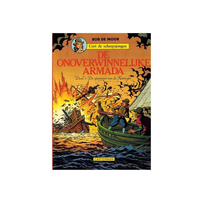 Cori de scheepsjongen 03 De onoverwinnelijke Armada 1 De spionnen van de Koningin 1e druk 1978