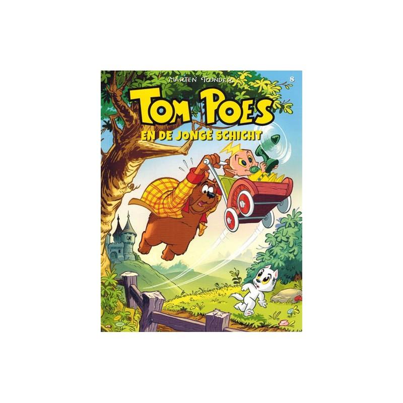 Tom Poes  ballonstrip HC C08 De jonge schicht