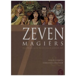 Zeven 14 HC 7 Magiers Zeven meesters van het mysterie versus de wandelende dood