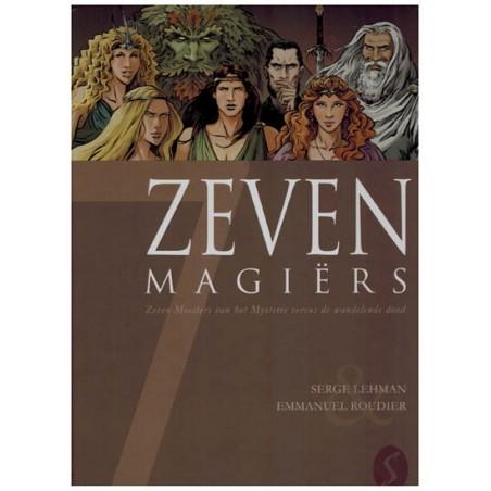 Zeven 17 HC 7 Magiers Zeven meesters van het mysterie versus de wandelende dood