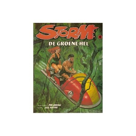 Storm 04 De groene hel 1e druk 1980