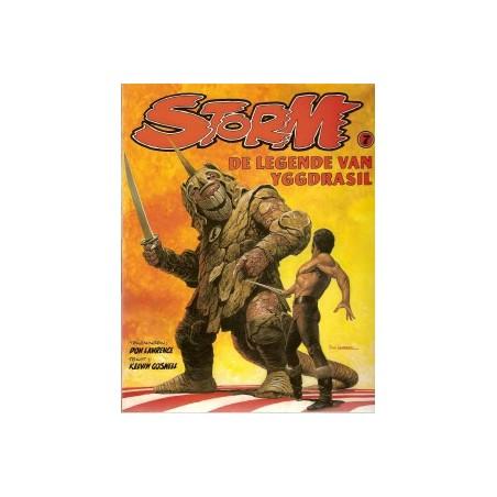Storm 07 De legende van Yggdrasil 1e druk 1981