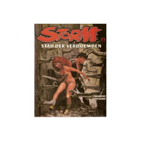 Storm 08 Stad der verdoemden 1e druk 1982