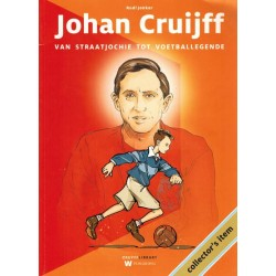 Johan Cruijff Van straatjochie tot voetballegende 1e druk 2014 met wikkel