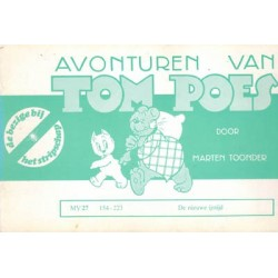 Tom Poes Stripschap 27 De nieuwe ijstijd 1e druk 1976 154-223