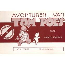 Tom Poes Stripschap 37 De betoverde prinses 1e druk 1978 772-863