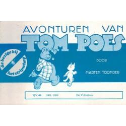 Tom Poes Stripschap 40 De Volvetters 1e druk 1978 1001-1089