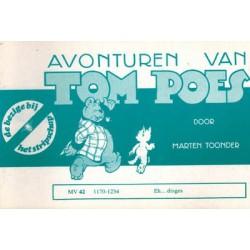Tom Poes Stripschap 42 Eh... dinges 1e druk 1978 1170-1234