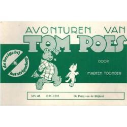 Tom Poes Stripschap 43 De Partij van de Blijheid 1e druk 1977 1235-1295