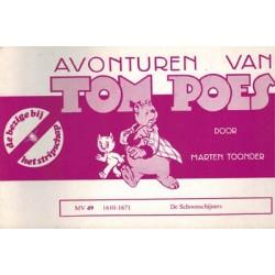 Tom Poes Stripschap 49 De schoonschijners 1e druk 1978 1610-1671